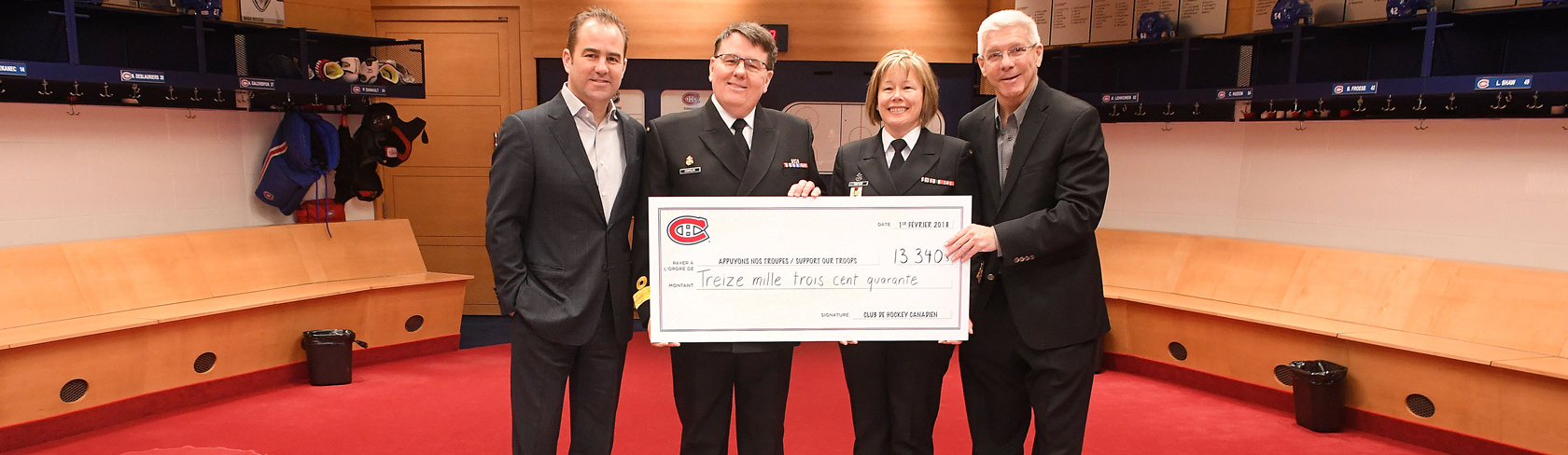 Thank You Montreal Canadiens! Image