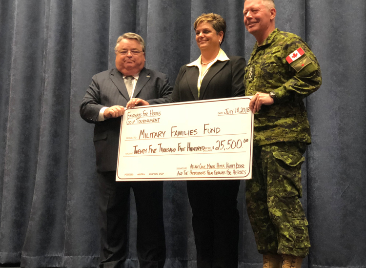 Fairways for Heroes raises $25,500 for Support Our Troops
