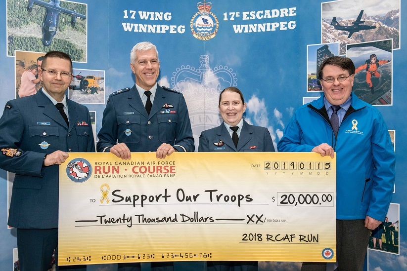 Thank you Royal Canadian Air Force (RCAF) Run
